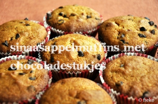 Orange-Chocolate Muffins // by Fiekefatjerietjes