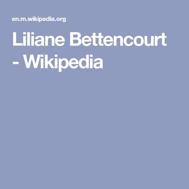 Liliane Bettencourt - Wikipedia
