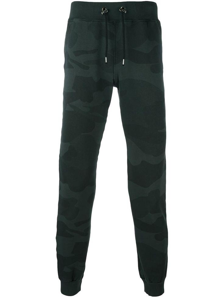 Hydrogen pantalon de jogging à motif camouflage