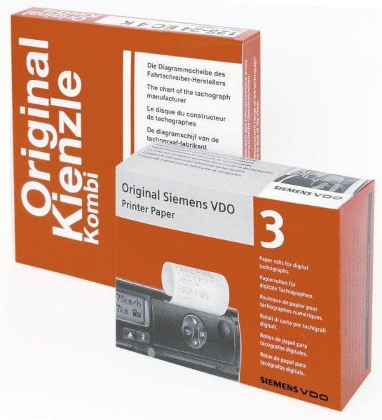 Χαρτί εκτύπωσης VDO για ψηφιακό ταχογράφο