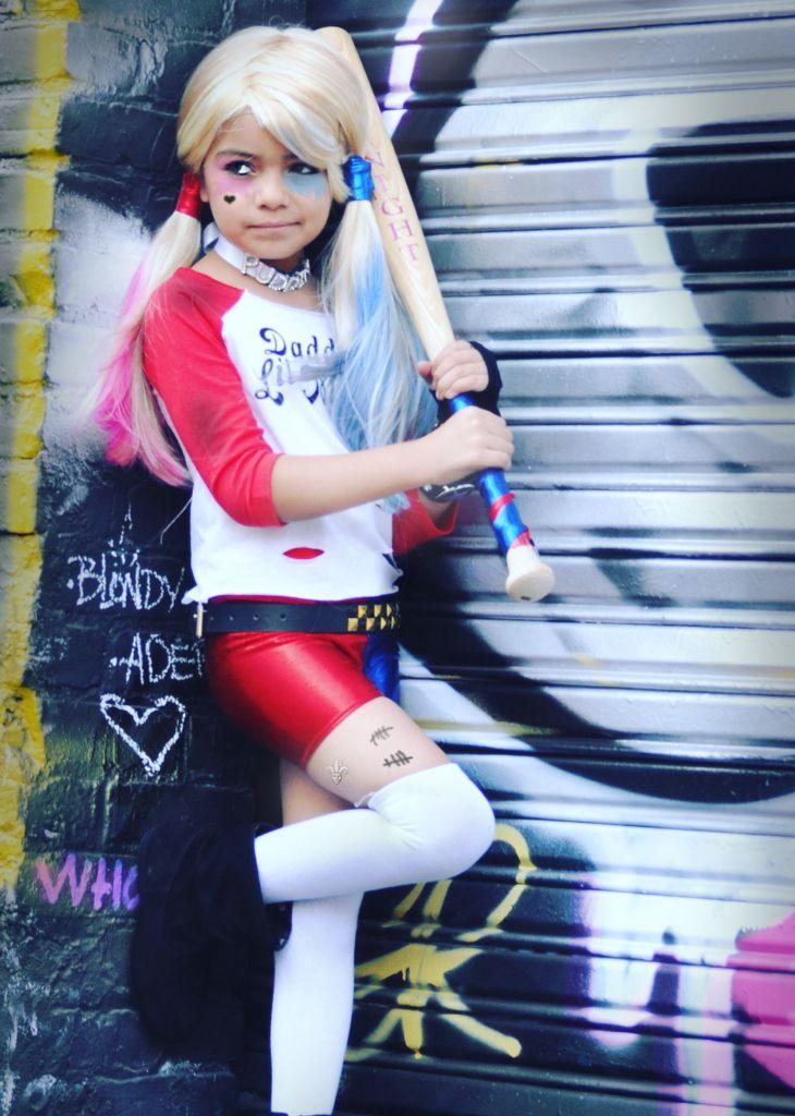 Harley Quinn Suicide Squad  Halloween costume for girls www.krabkakes.etsy.com