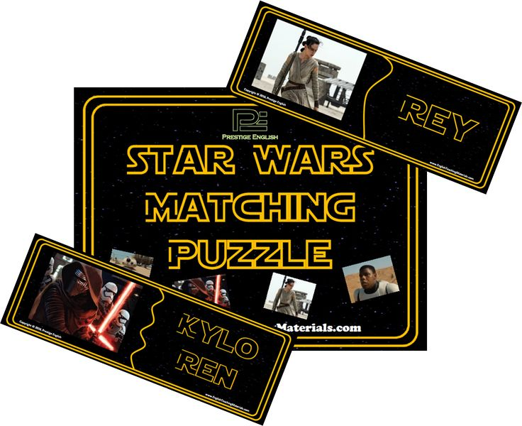 Matching Puzzle - Star Wars (2015)