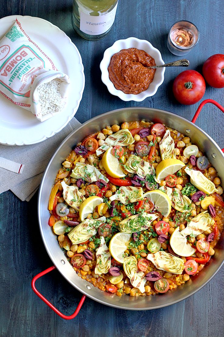 For a taste of Valencian cuisine, make my vegetarian paella with Romesco sauce. It's healthy and delicious!