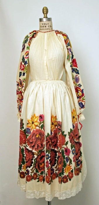 Croatian ensemble via The Costume Institute of the Metropolitan Museum of Art, Poravina & Posavina