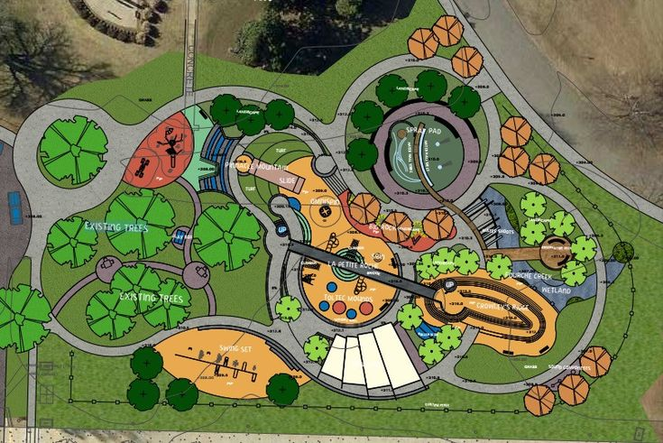план парка картинки изящество