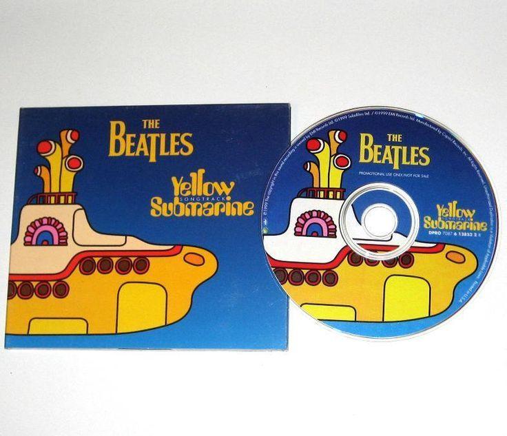 Beatles YELLOW SUBMARINE 4 Song US Promo CD CUSTOM CASE DPRO 7087 w/ Hey Bulldog