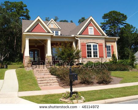 Like The Trim Around The Shakes On The Peak This Color Combo Would Work With Tan Houseshutter Colorsbrick