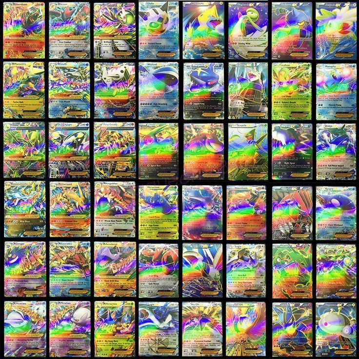 Newest Pokemon 100 CARD LOT RARE 20 MEGA FLASH Holo CARDS+80 EX CARDS NO REPEAT in Toys & Hobbies, Collectible Card Games, Pokémon Trading Card Game | eBay