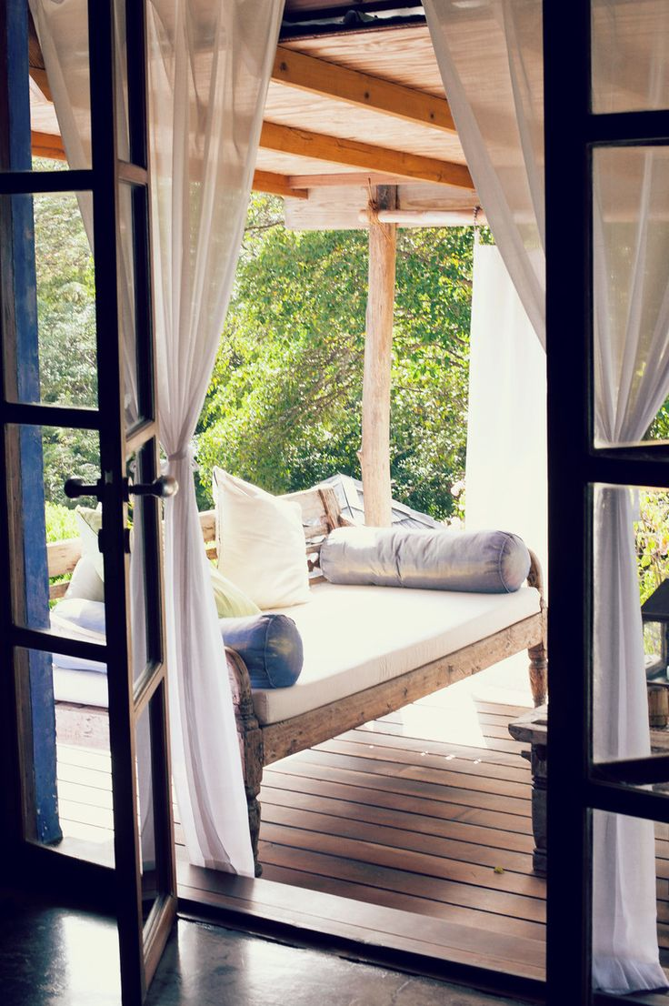There is an unpretentious, but luxurious bohemian feeling  at this in-the-know Grenada hideaway.  Laluna's cottages are perched discreetly along the hillside of a petite jungle...