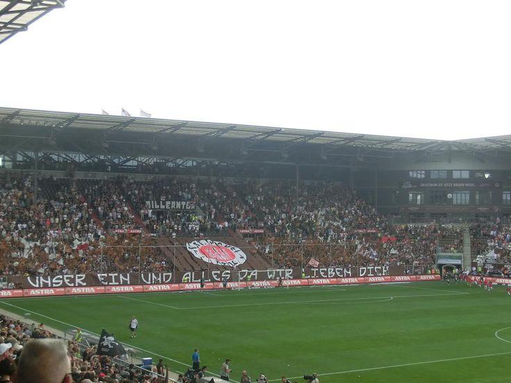 Millerntor-Stadion in Hamburg (St. Pauli)