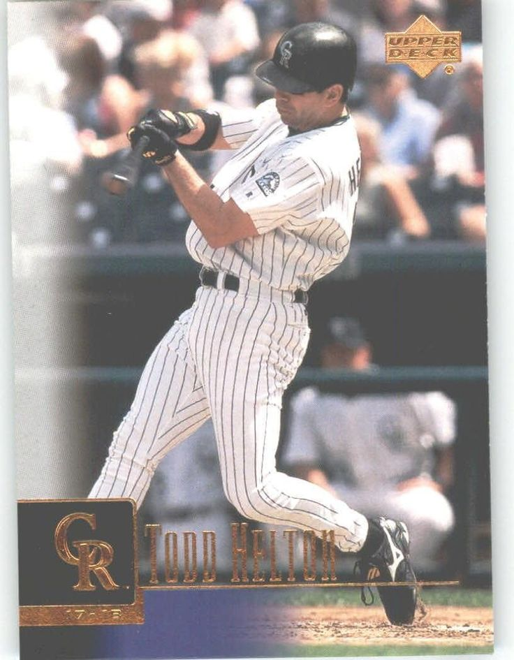 2001 Upper Deck 257 Todd Helton - Colorado Rockies (Baseball Cards) * You can find out more details at the link of the image.