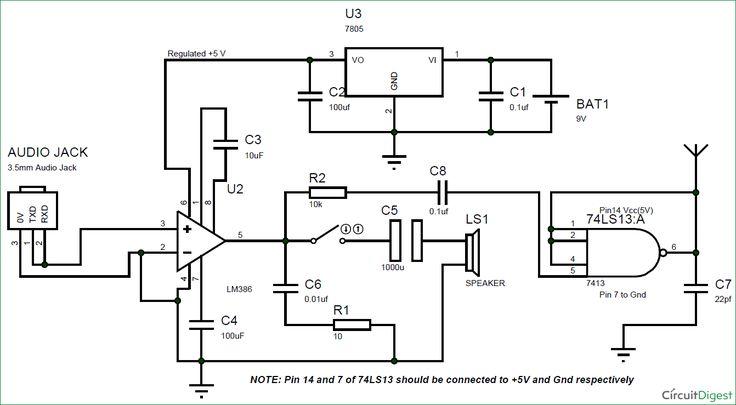 smoke detector using 555 timer circuit