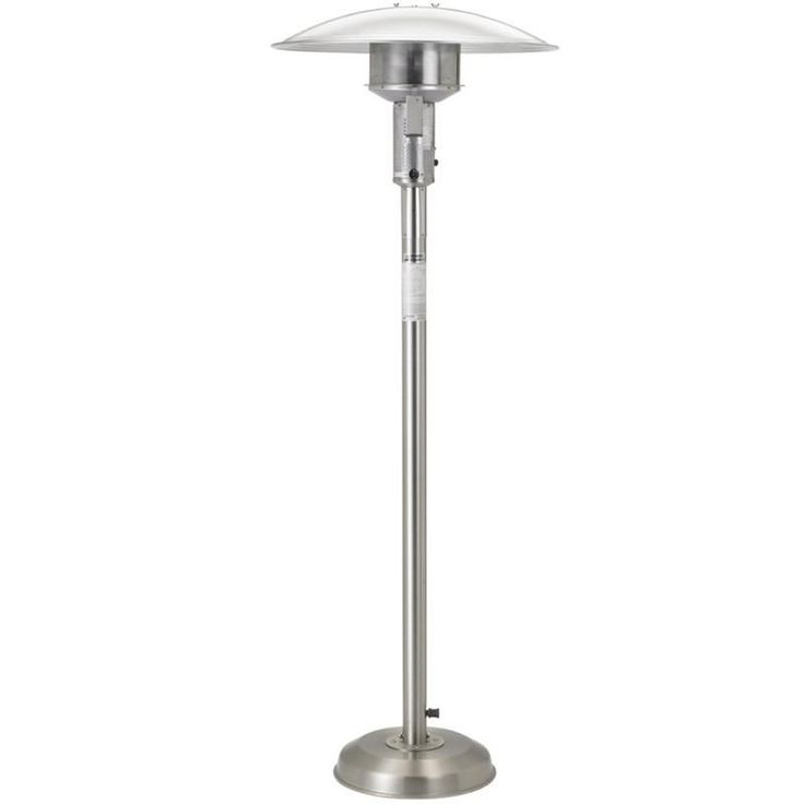 Sunglo Natural Gas Stainless Steel Portable Patio Heater (A242SS)