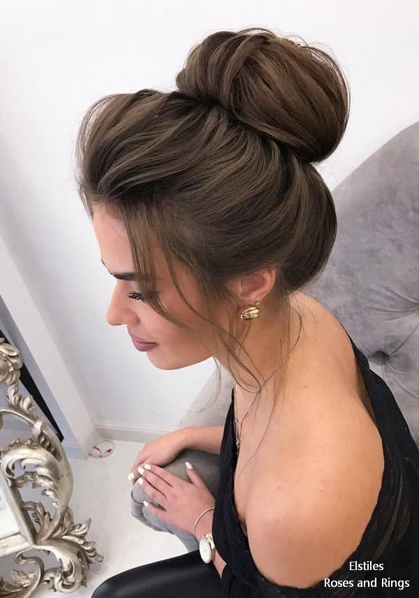 Top 20 Elstiles High Updo Wedding Hairstyles Roses Rings Part 2 Hair Styles High Updo Wedding High Updo
