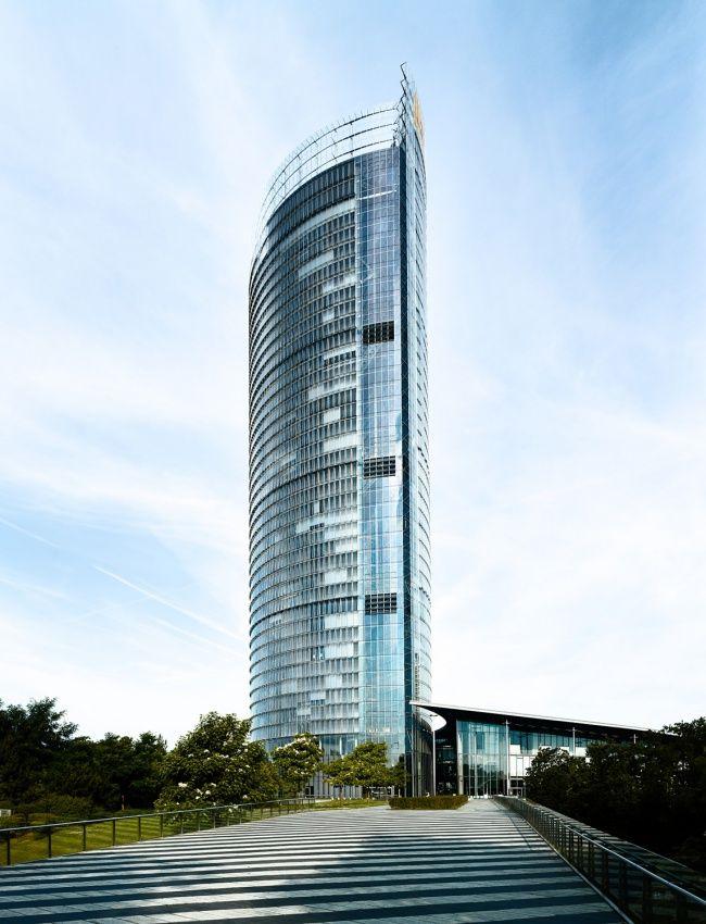 Post Tower by German-American architect Helmut Jahn / Bonn, Germany