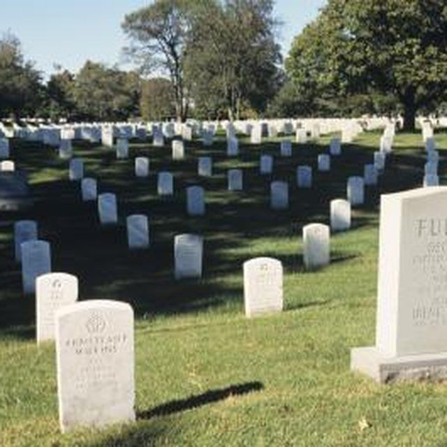 How to Make Headstones for Grave Sites