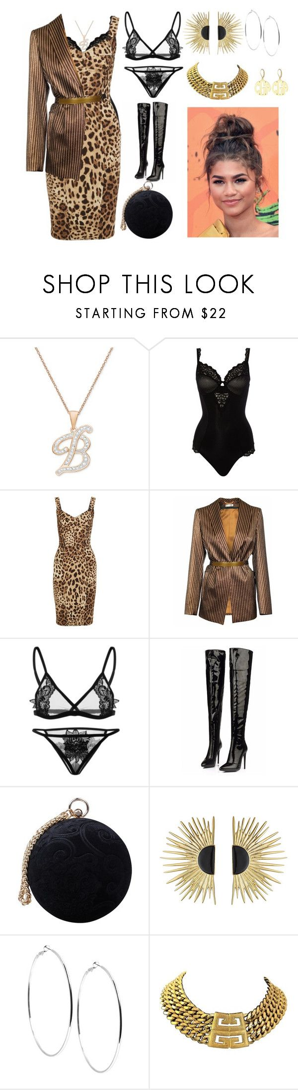 """""""To work"""" by thequeen-998 on Polyvore featuring Maison Lejaby, Dolce&Gabbana, JIRI KALFAR, Carvela, Coleman, Aurélie Bidermann, GUESS, Givenchy and Alison & Ivy"""