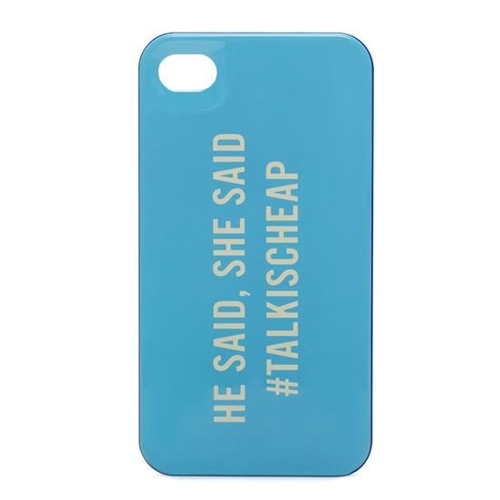 TALK IS CHEAP RESIN IPHONE CASE
