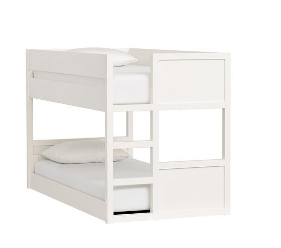 Camden Twin-over-Twin Low Bunk Bed #pbkids