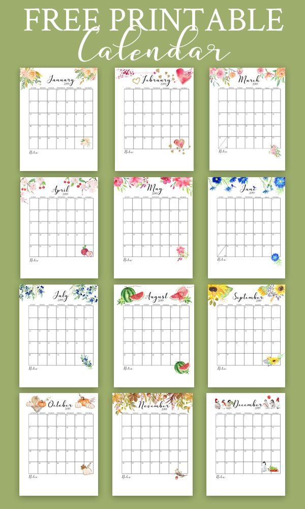 Free Printable Calendar 2019 Monthly Calendar On Sutton Place