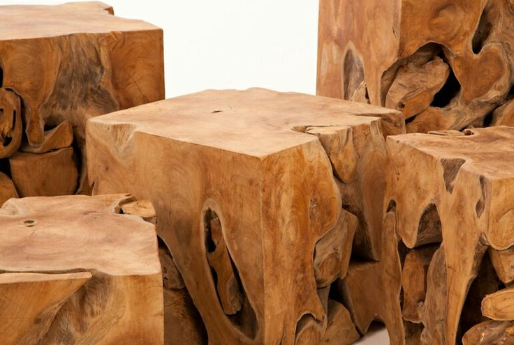 Organic design at its best! A close up of our Tero Teak Root Blocks shows off the natural movement of the tree's roots. 💚 Add warmth to your space by clustering them into a one of a kind coffee table, a stand alone end table, entrance way accent seating....  #TextureTuesday #teakroot #salvagedwood #endtables  #organicdesign #rusticaccents #InteriorDesign #naturesart #greenliving #woodlove #sustainabledesign #guiltfreewood #shoponline #Zenporium #texturetuesdays