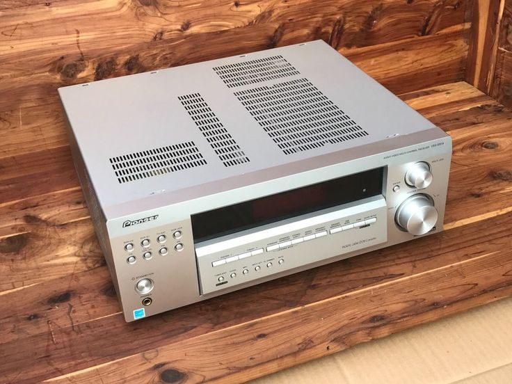 Pioneer Audio Video Multi Channel Receiver VSX D514 S Home Theater Works Perfect #Pioneer