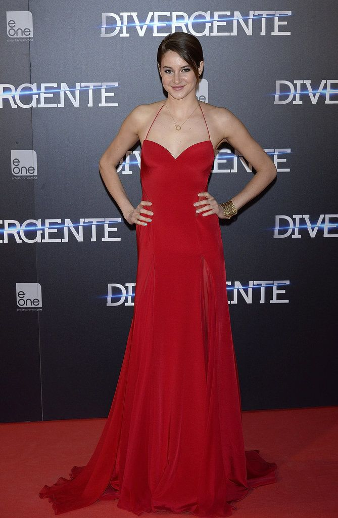 There Is Zero Fault in Shailene Woodley's Red Carpet Résumé: Shailene Woodley first gained notoriety for her role in the ABC Family series The Secret Life of the American Teenager, but the young beauty is on her way to superstar status with starring turns in The Descendants, Divergent, and The Fault in Our Stars, opening today, already under her belt.