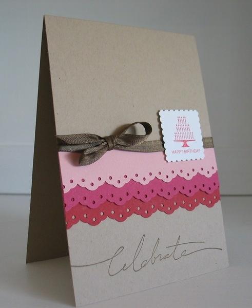 Geburtstagskarte Celebrate