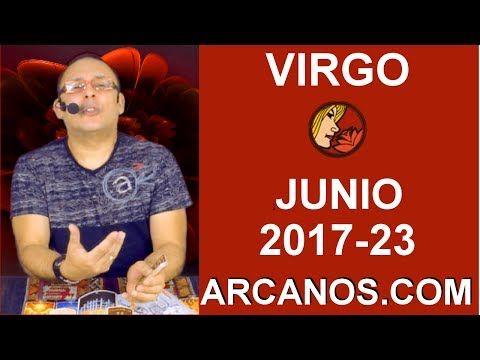 VIRGO JUNIO 2017-4 al 10 Jun 2017-Inclinación Solteros Parejas Caudal Trabajo-ARCANOS.COM - Tarot del Amor
