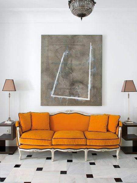 Die besten 25+ Orange bettwäsche Ideen auf Pinterest Marine - wohnzimmer orange streichen