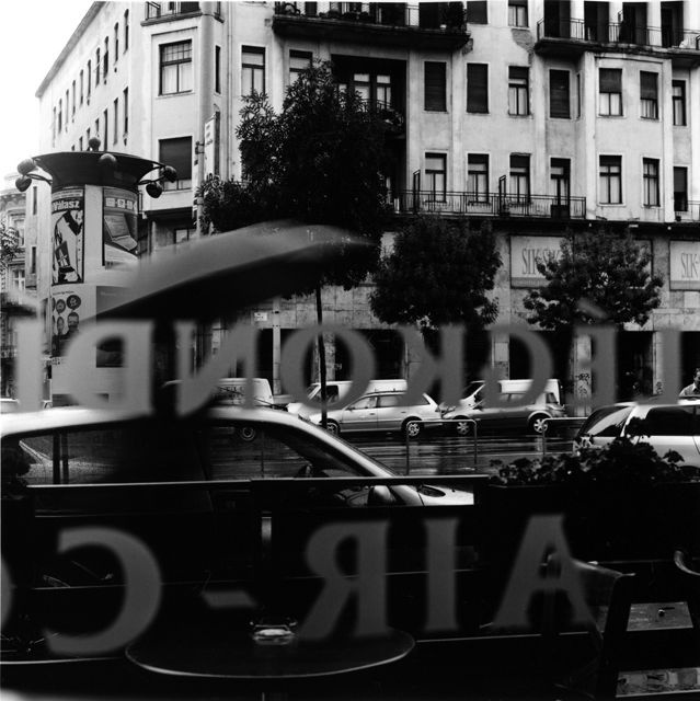 Budapest Cafe by Keith Moss http://keithmoss.co.uk #street #film #ilford #keithmoss