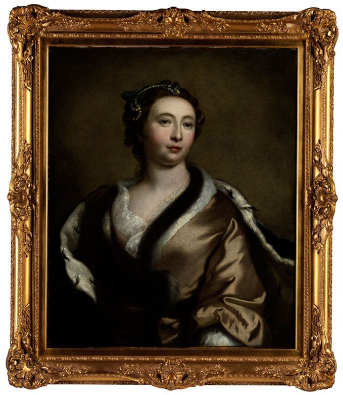 NOT Porträt der Imperiatrzice Elisabeth Petrowna Romanowa