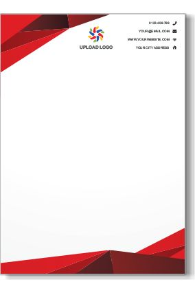Best Letterhead Images On   Contact Paper Letterhead