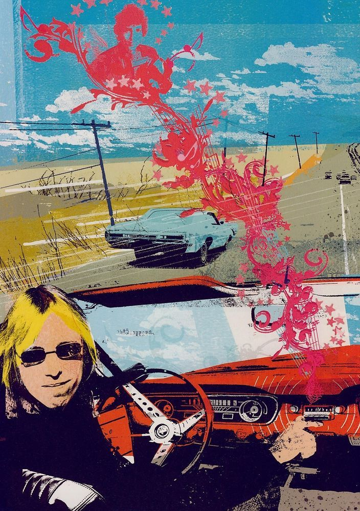 TOM PETTY POSTER / Pin Up #1