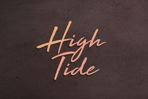 High Tide Font by BLKBK on @creativemarket
