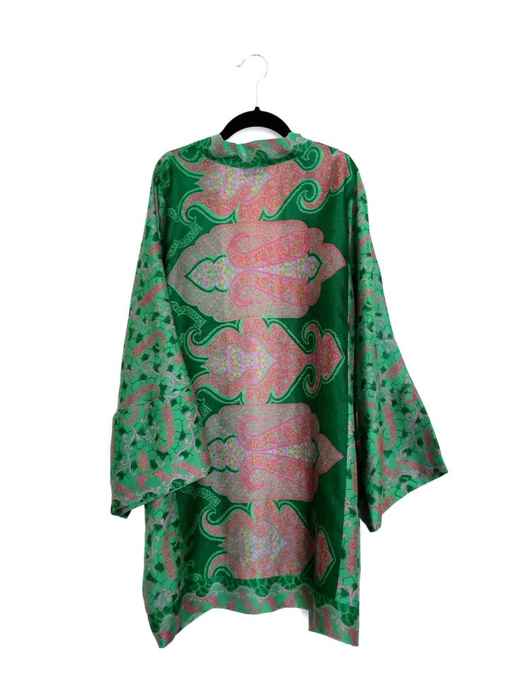 A personal favourite from my Etsy shop https://www.etsy.com/listing/236057745/silk-kimono-jacket-oversized-cocoon
