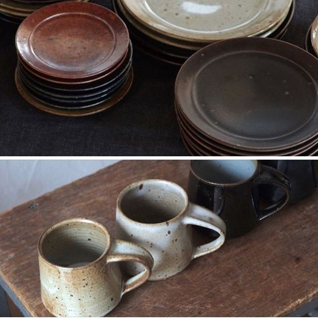 告知が遅くてすみません。  今日明日、杉並海の家@代田橋で開催中の海の市に出品しています。  リム皿(5,6,7,8寸)、アッシュトレイ、飯碗、どんぶり、マグカップ、深皿などのB品及び型落ち品が並んでいます。  明日は私も1日在廊しておりますので、是非お出掛け下さい。  https://www.facebook.com/events/351448465290644??ti=ia  ビール、アイス、流し素麺もあるとの事で、たのしみ。    #杉並海の家 #海の市  〒168-0063 東京都 杉並区和泉1-5-12  11:30-18:00