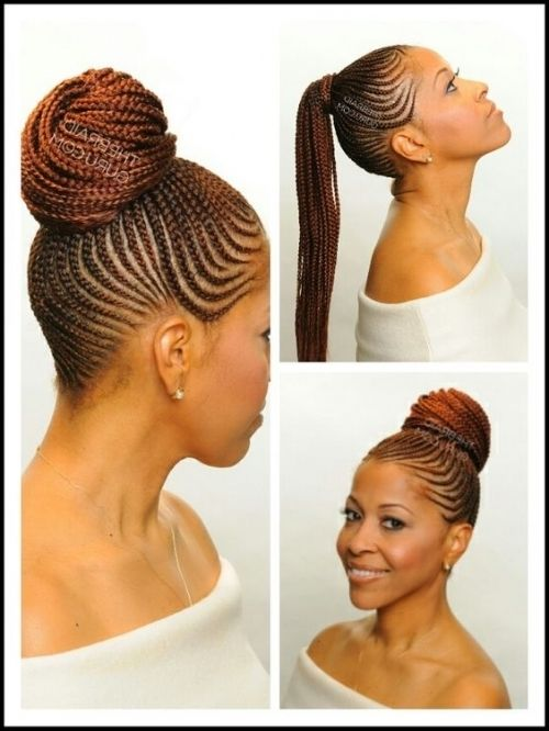 Cornrow Ponytail | Ethnic Hair | Pinterest | Cornrow for Cornrows With Ponytail Styles