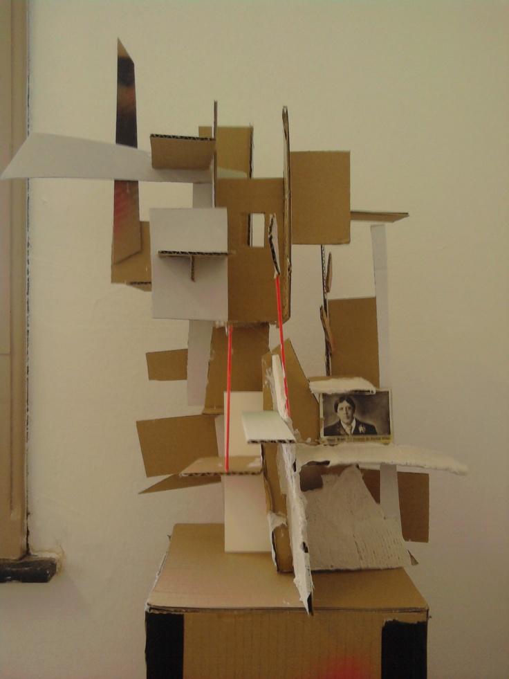Werken met karton.