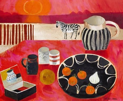 Ben's Box - 1994   Mary Fedden  1915-2012