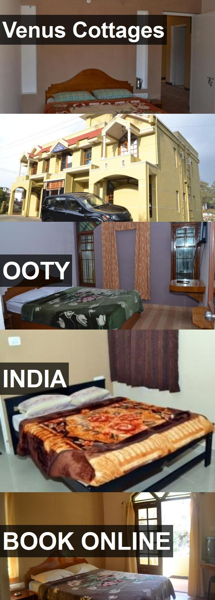Hotel Venus Cottages in Ooty, India. For more information, photos, reviews and best prices please follow the link. #India #Ooty #travel #vacation #hotel