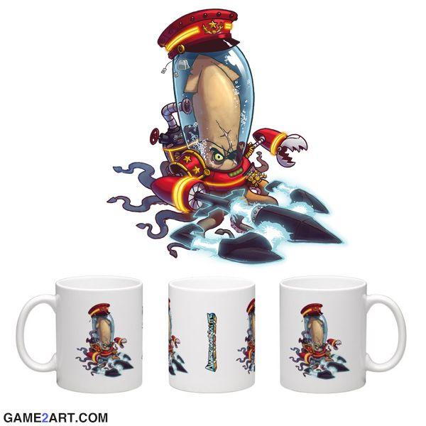 #AwesomeNauts #Swiggins merchandise mug. We use the original artwork in cooperation with #Ronimo Games Order now at www.game2art.com  #game #gaming #merchandise #mug #Ronimo #game2art #starstorm #ps3 #xbox #playstation #onlinegaming #gamemerchandise #gamecollector #gameroom #nintento #onlinegame #onlinegaming #christmas #kerst #Weihnachten #Noel #gift #xbox #ps4 #NeoGAF #GameFAQs #IGN #GAMESPOT #MMORPG