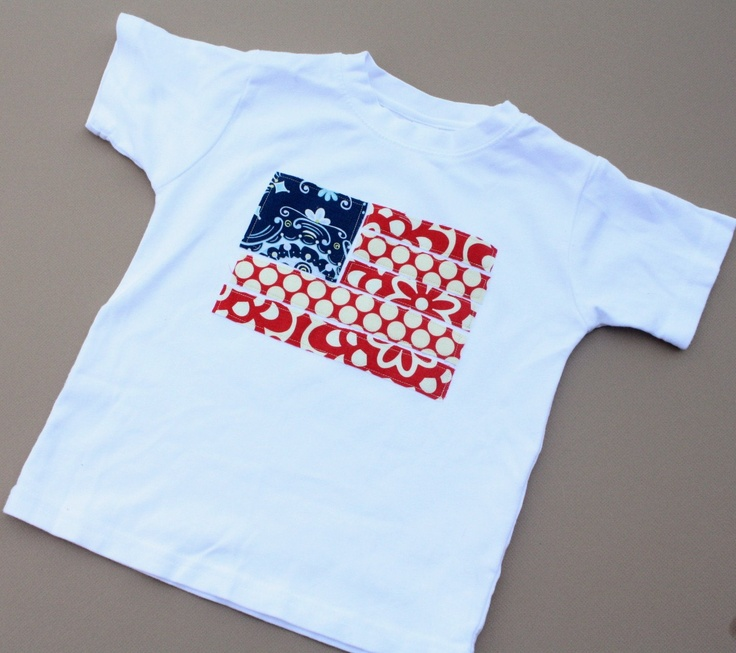 fourth of july applique