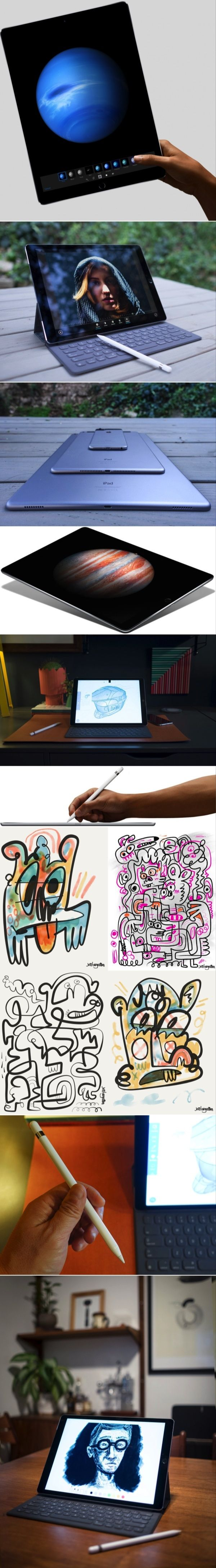 Hands On With the iPad Pro and In the Hands of the Creative