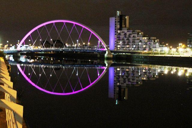 Squinty Bridge, Glasgow (Reino Unido)