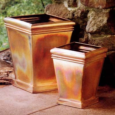 1000 Images About Box Style Copper Planter On Pinterest