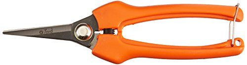 Qyard QY809A Floral Pruning Shear Extra Sharp Garden Hand Pruners  Easier Cutting  Comfortable Ergonomic Less Effort   Gardening Scissors for Men  Women >>> See this great product.