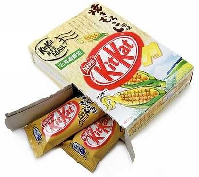 Corn Stars  Weird Japanese Corn Snacks Foods Drinks