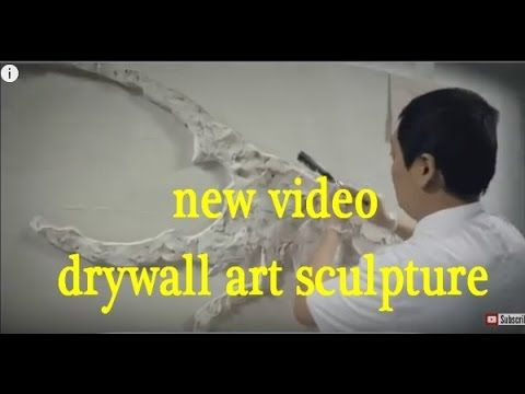 Drywall Art Sculpture by achghal decor - YouTube