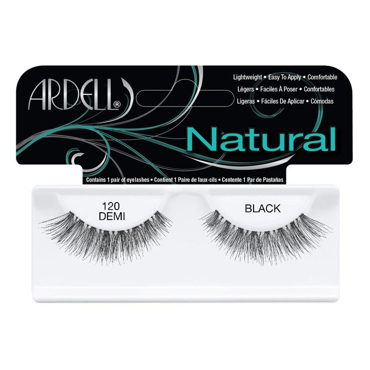 Ardell Fashion Lashes 120 Demi Black 1 Pair - I've heard all the British you tubers talk about the ardell lashes and would love to try a pair